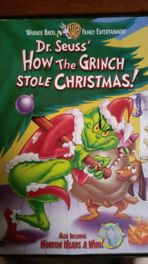Grinch who stole christmas on dvd for Sale in Clemmons, NC