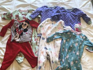 Girls 18 month fall/winter pajamas for Sale in Gainesville, VA
