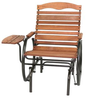 New in Box - Outdoor or Indoor Gliding / Rocking Chair with Tray for Sale in Cumming, GA