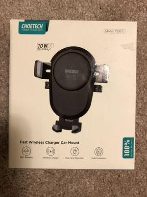 WIRELESS CAR CHARGER 10W BRAND NEW IN BOX $25 OBO for Sale in Ashton-Sandy Spring, MD