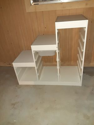 White stair like stand (as it) for Sale in Phoenix, AZ