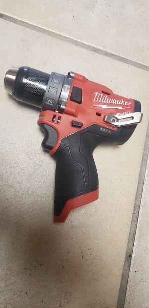 Milwaukee M12 Fuel 1/2' Hammer Drill $70 FIRM for Sale in Phoenix, AZ