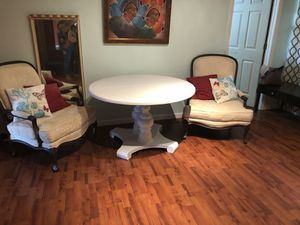 Two x large antique chairs for Sale in Tampa, FL