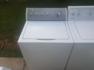 Whirlpool silver face washer for Sale in Austin, TX