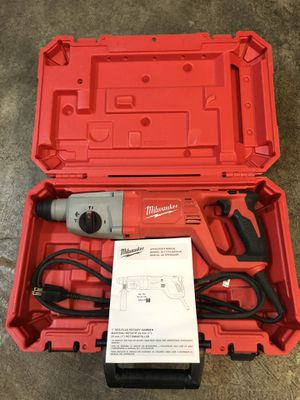 Milwaukee roto hammer drill for concrete for Sale in Lake Stevens, WA
