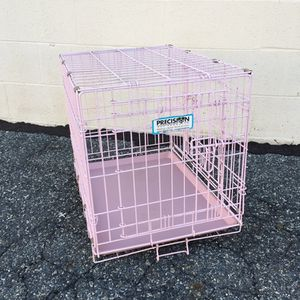 "PINK Metal Pet Cage, 18"" x 20"" x 24"", Durable Plastic Floor for Sale in Baltimore, MD"