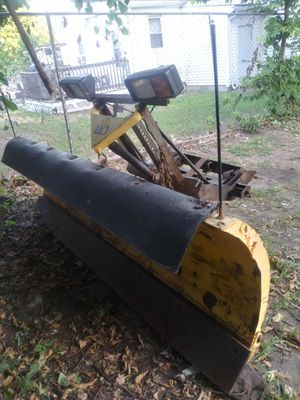 8ft snow plow Ford Chevy or Dodge for Sale in Springfield, MA