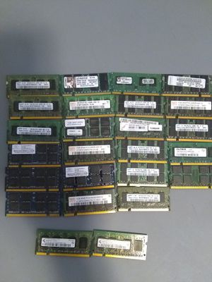 24gb of DDR2 laptop ram sale or trade for Sale in San Diego, CA