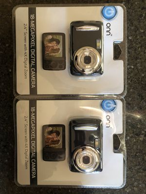 Brand new Onn digital cameras 18 mega pixel for Sale in Campbell, CA