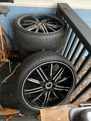 20in black and alloy $600 for Sale in Durham, NC