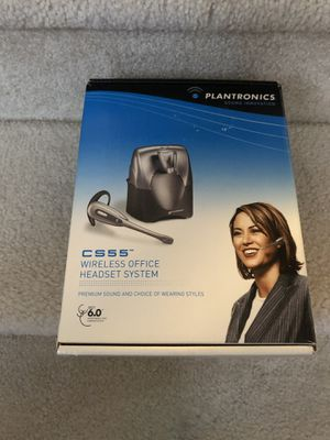 Plantronics CS55 Wireless Headset Bundle for Sale in Ashburn, VA