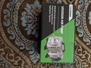 Vivisun hydroponic air pump for Sale in Kalamazoo, MI