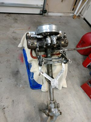 1920 Caille Vintage Twin Outboard Motor for Sale in Bend, OR