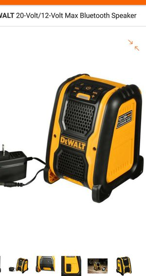 Bluetooth speaker 20V. TOOL ONLY for Sale in Bailey's Crossroads, VA