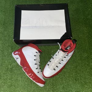 "Jordan Retro 9 "" White Gym Red "" for Sale in West Haven, CT"