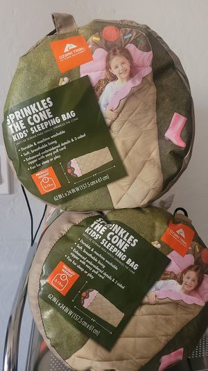 Sprinkles the cone kids sleeping bag for Sale in Phoenix, AZ
