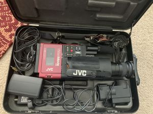 VINTAGE MARTY MCFLY BACK TO THE FUTURE JVC GR-C1U VIDEO CAMERA CAMCORDER VHSC for Sale in Hollywood, FL
