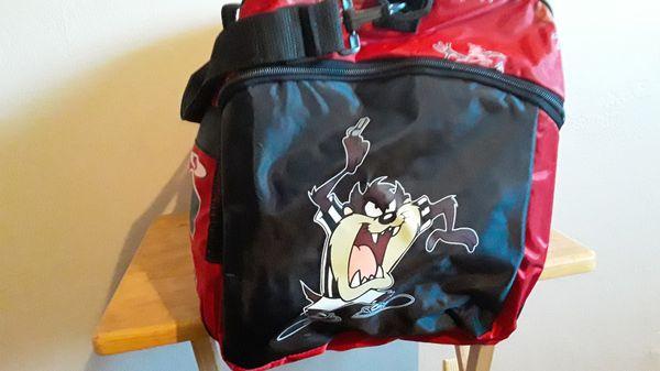 Chicago bulls duffle bag