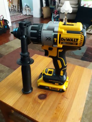 Delwalt hammers drill with battery no charger for Sale in NO BRENTWOOD, MD