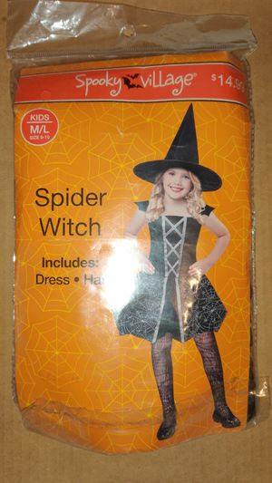 Spider witch costume for Sale in Spartanburg, SC