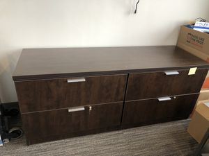 File Cabinet- Wooden Finish for Sale in Willow Springs, IL