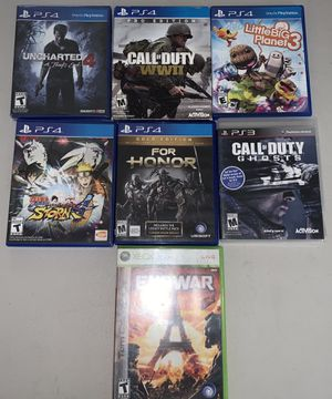 PS4 , PS3 , Xbox 360 Games | Make offers for all or any | for Sale in Los Angeles, CA