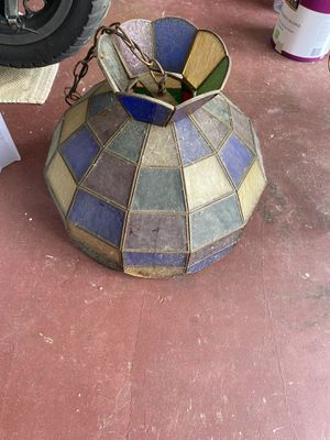 Stained glass hanging light for Sale in Holiday, FL