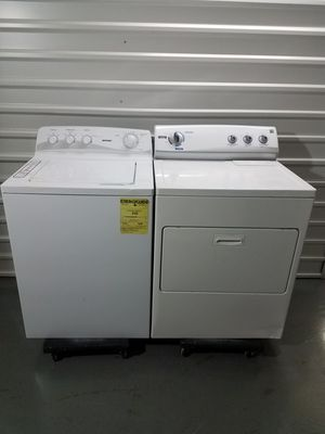Hotpoint Washer And Kenmore Electric Dryer Set, Great Working 👍 Free 🚀 Delivery Same day Or expect To you🚚👷‍♂️ for Sale in Dallas, TX