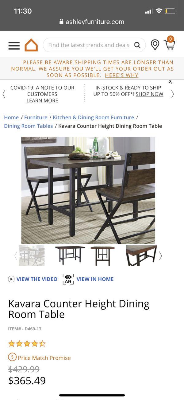 Ashley's Furniture Kavara Dining Set