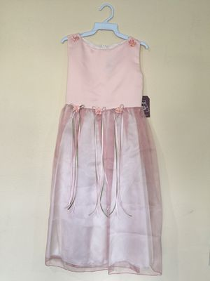 New Dusty Rose Pink Flower Girls Party Dress Size 12 for Sale in Hacienda Heights, CA