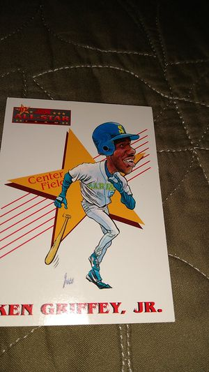 Ken Griffey .Jr baseball card for Sale in Vancouver, WA