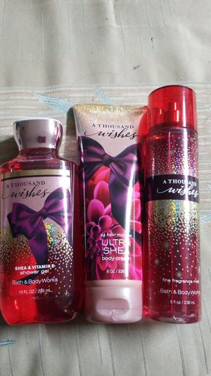 BATH AND BODY WORKS- A THOUSAND WISHES $25.00 for Sale in Stanton, CA