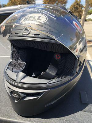 Bell moto helmet matte black for Sale in Rancho Cucamonga, CA