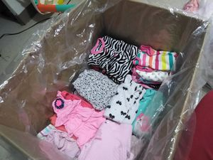 Box of Baby clothes for Sale in Bedford Park, IL