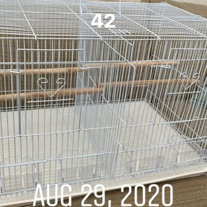 White New Bird Cage for Sale in North Las Vegas, NV