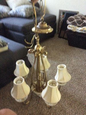 Lenox chandelier excellent condition for Sale in Pittsburgh, PA
