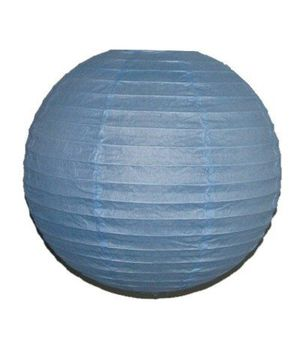 """Wholesale Lot 24 Pack - Party Paper Lantern-Round 12""""-Luau Supplies- Oriental/Chinese Lamps - Blue for Sale in Kissimmee, FL"""