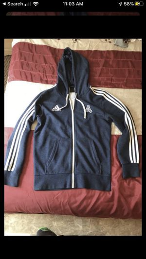 Blue adidas hoodie for Sale in Palos Heights, IL