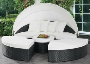 White ESPRESSO PE Resin Wicker Outdoor Lounge DAY BED OTTOMANS SOFA SEATING CANOPY PATIO POOL SIDE FURNITURE for Sale in San Diego, CA