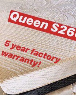 💥Brand new Blue Gel Memory Foam Mattress💥 Queen Mattress only-$260 Mattress & box spring-$320 Full Mattress only-$235 Mattress & box spring for Sale in Fullerton,  CA