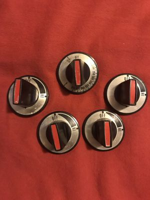 Oven knobs for small motorhome or RV stove $10 for Sale in Brooklyn, OH