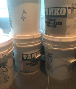 TAMKO TWP-2 Water Based Primer 5 GAL /75$ for Sale in Aldie, VA