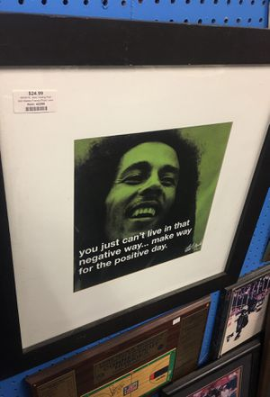 Bob Marley framed picture for Sale in New Britain, CT