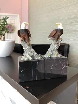 Crystal Cathedral Ministries Eagle Club Eagle Bookends Figurine 2004 for Sale in Feasterville-Trevose, PA