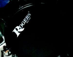 Rogers Black Complete Drum Set for Sale in Salinas, CA