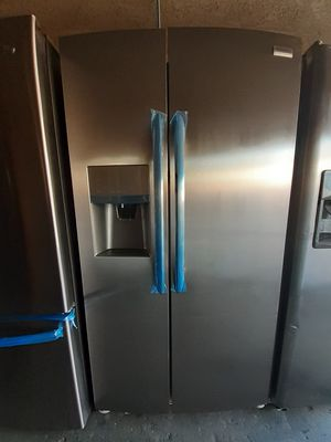 REFRIGERATOR SXS FRIGIDAIRE STAINLESS STEEL NEW for Sale in Santa Ana, CA