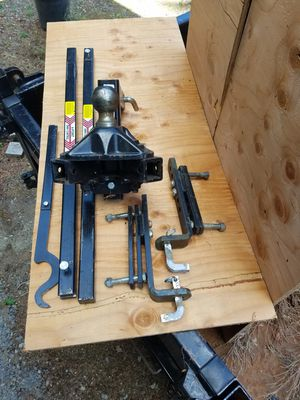 Travel Trailer 4-Point Sway Control Hitch for Sale in Puyallup, WA