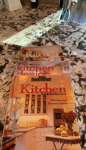 Kitchen remodeling books for Sale in Temecula, CA