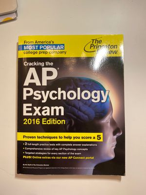AP Psychology Exam Princeton Review for Sale in Los Angeles, CA