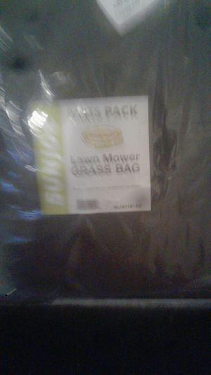 Lawn mower grass bag for Sale in Washington, DC